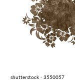 floral style backgrounds frame | Shutterstock . vector #3550057