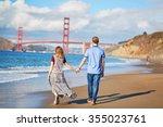 Romantic Loving Couple Having ...