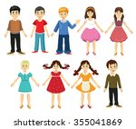 children set vector | Shutterstock .eps vector #355041869