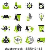alternative energy symbol for... | Shutterstock .eps vector #355043465