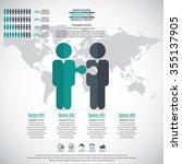 business management  strategy... | Shutterstock .eps vector #355137905