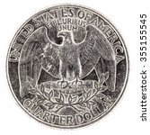 coin of united states of... | Shutterstock . vector #355155545
