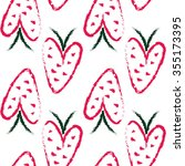 vector seamless pattern with...   Shutterstock .eps vector #355173395