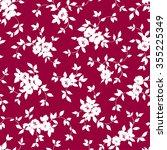 flower illustration pattern | Shutterstock .eps vector #355225349