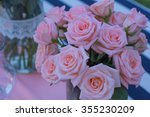 wedding flowers on the table. | Shutterstock . vector #355230209
