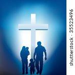 Christian Family Walking...