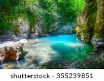 martvili canyon in georgia.... | Shutterstock . vector #355239851