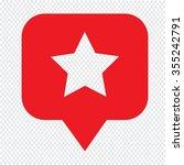 speech bubble star icon...   Shutterstock .eps vector #355242791