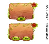 funny cartoon game panels in...