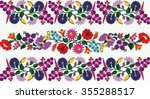 hungarian folk art | Shutterstock .eps vector #355288517