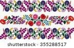 hungarian folk art | Shutterstock .eps vector #355288517