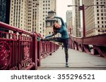 preparing for the run ahead.... | Shutterstock . vector #355296521