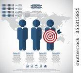 business management  strategy... | Shutterstock .eps vector #355315835