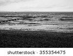 Lonely Beach At Pataya Shore.