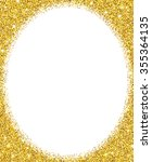 gold glitter background. gold... | Shutterstock .eps vector #355364135