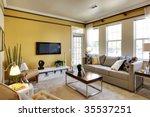 apartment living room | Shutterstock . vector #35537251