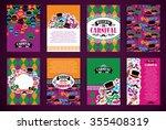celebration festive background... | Shutterstock .eps vector #355408319