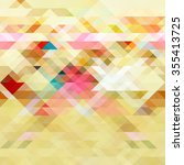 abstract geometric vector... | Shutterstock .eps vector #355413725