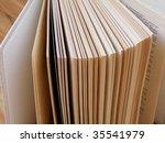 nice detail of a book | Shutterstock . vector #35541979