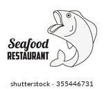 sea food design  vector... | Shutterstock .eps vector #355446731