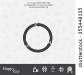 circular arrows vector icon   Shutterstock .eps vector #355448135