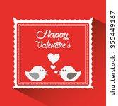 love card design  vector... | Shutterstock .eps vector #355449167