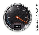 speedometer icon | Shutterstock . vector #355463279