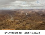 fish river canyon   the second... | Shutterstock . vector #355482635