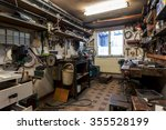 real dirty domestic diy home... | Shutterstock . vector #355528199