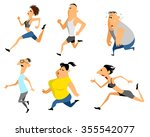 vector illustration of a six... | Shutterstock .eps vector #355542077