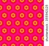 seamless hexagon vector pattern | Shutterstock .eps vector #355542125