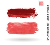 brush stroke and texture....   Shutterstock .eps vector #355549085