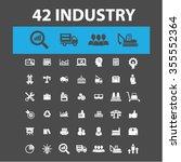industrial business  factory ... | Shutterstock .eps vector #355552364