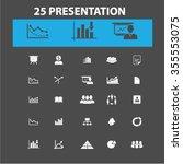 presentation  chart  diagram ... | Shutterstock .eps vector #355553075