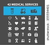 medical services  scientific... | Shutterstock .eps vector #355554401