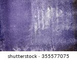 old grunge wall texture... | Shutterstock . vector #355577075
