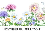 hand drawn watercolor image of... | Shutterstock . vector #355579775