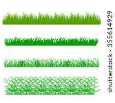grass  shrubs | Shutterstock .eps vector #355614929