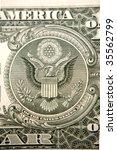 u.s. banknote detail   Shutterstock . vector #35562799