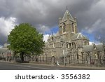 The Cathedral of the Most Holy Trinity, Dublin, Ireland. - stock photo