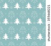 winter forest background.... | Shutterstock . vector #355668221