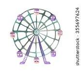 An Illustration Of A Ferris...