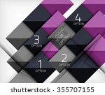 paper style design templates ...   Shutterstock .eps vector #355707155