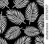 palm leaf pattern | Shutterstock .eps vector #355731917