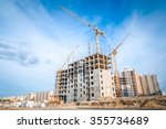 Large Crane And Construction O...