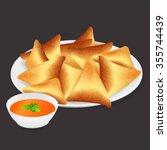 Samosa Indian Street Fast Food...