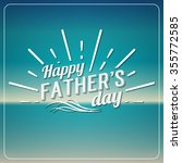 retro elements for father's day ... | Shutterstock . vector #355772585