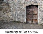 Stock photo courtyard of kilmainham gaol dublin 35577406