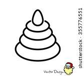 web line icon. pyramid ...   Shutterstock .eps vector #355776551