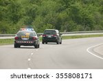 police chase | Shutterstock . vector #355808171
